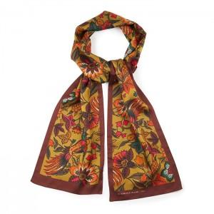"""""""Birds"""" silk scarf"""