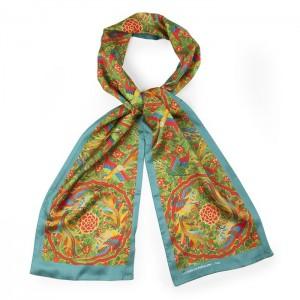 """""""Travel"""" silk scarf"""