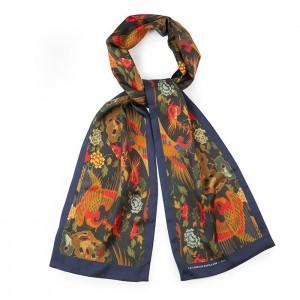 "copy of ""Japan"" silk scarf"