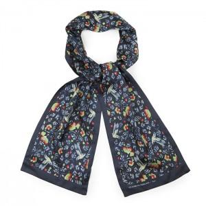 """""""Colibri"""" silk scarf"""