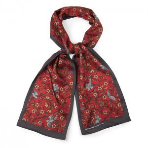 """""""Garden"""" silk scarf"""
