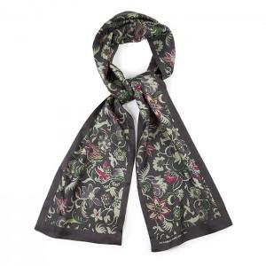 """Chambord"" silk scarf"