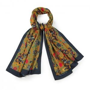 """Pavillon doré"" scarf"