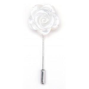 Grande fleur en nacre - Blanc