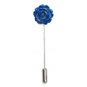 Rose Lapis Lazuli - boutonniere