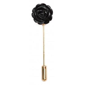 Rose Agate Noir - boutonniere
