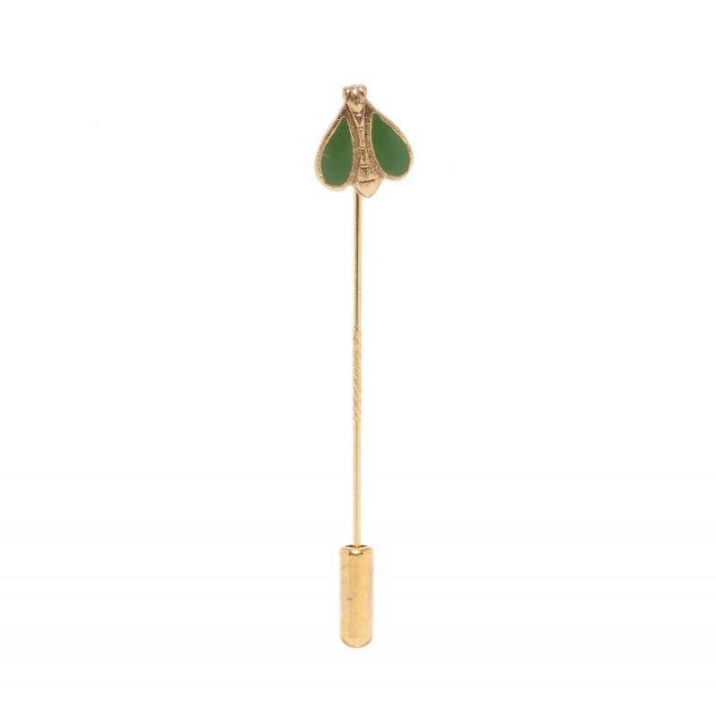 L'Apis mellifera - vert - boutonniere